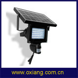 Support 2 Way Charge Solar PIR Sensor Light Camera