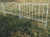High Quality Galvanized Safety Metal Crowd Control Barrier