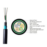 24/36/48/72/96 Core GYTA53 Outdoor Direct Buried Armored/Amoured Double Jacket Underground Optic/Optical Fiber Communication Cable