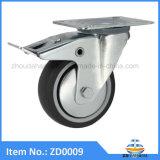 TPR Castor Wheel Furniture Castors with Brake Swivel Heavy Duty