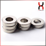 NdFeB Magnet Ring with Nickel Coating Ce/RoHS Certificate