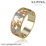 14078 New Design Xuping Fashion Single-Row Diamond Male Ring with Multicolor