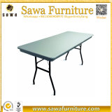 Outdoor Plastic HDPE Folding Table 6FT Regular Dining Table