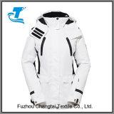 Outdoor Women White Sport Ski Jacket