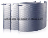 Embossed Design Stainless Cold Plate Cooling Plate