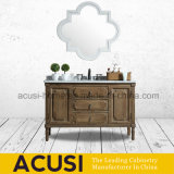 New Arrival American Style Solid Wood 1200mm Bathroom Vanity (ACS1-W79)
