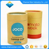 Custom Printed Coffee Cup Packaging Kraft Paper Tubes