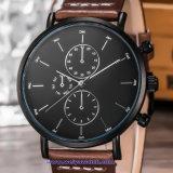 Custom Logo Quartz Men′s Watch Crystal Swiss Wrist for Man (WY-17013B)