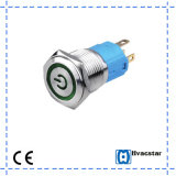 Momentary 16mm Metal Push Button Switch Ce Certificate