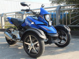 Adult Electric Tricycle Big Three Wheel 200cc Sports Motor Tricycle Motorcycle