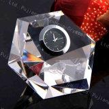 Wholesale Best for Office Diamond Crystal Digital Clock Souvenir