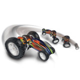 4003 RC Stunt Robot Color Flash Light Flexible Radio Controlled Toy Remote Control Car Climbing Car off Road Electric Toy