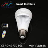 Wholesale Aluminum E27 8W 2.4G RGB Intelligent Smart High Power Remote LED Bulb Light