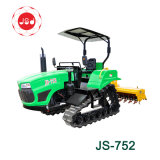 Js-752 2018 Flexible Hst Gear Box Mini Crawler Farm Tractor Price