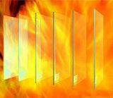 4mm&5mm Fire-Resistant Glass, Heat Resistant Glass Sheet
