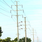 110 Kv Power Transmission Steel Pole Tower
