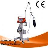 Cheap Hospital Ventilator Medical Ventilator ICU Ventilator Ce ISO Vg70 Ventilator Ambulance Surgical Ventilator Invasive Non-Invasive Acm812A Ventilator Stock