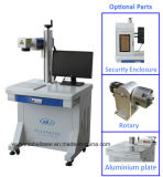 Custom Fiber Laser Marking Machine with Security Enclosure