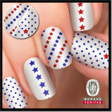 OEM Luck Stars Glittery Private Label and Design Nail Art Avaiable
