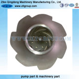 Investment Lost Wax Casting Closed CD4mcun Pump Impeller