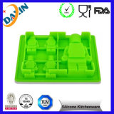 2015 High Quality Kid′s Robot Silicone Ice Mold