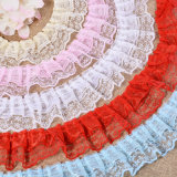 More Color Choice 4cm Ruffles Lace for Garment Accessories
