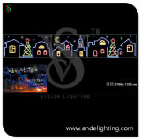 LED 2D Motif Light Christmas Street Decoration Light
