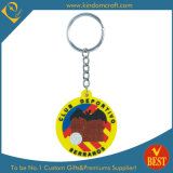 Wholesale Cartoon Shape Fashion High Quality PVC Key Chain as Activity Souvenir