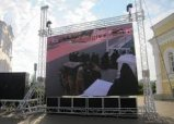 P4 High Refresh Rate LED Display, Full Color Outdoor Rental Wall