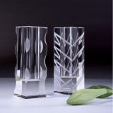 Crystal Flower Vase for Home Decoration (JD-HP-010)