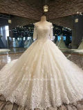 Aolanes Bridal Wide Light Champagne Wedding Dress