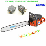 Emas High Quality Chain Saw with Tillotson Carburetor Motosierra (H268/H272)