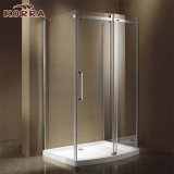 Popular Corner Shower Enclosure/Room with Bow Front Sliding Door Panel
