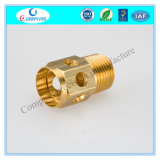 CNC Milling Part Brass Marerial with Natural Color or Chrome Plated