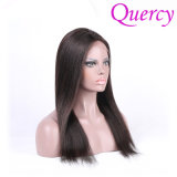 2017 Hot Selling Quercy Brazilian Virgin Human Front Lace Wigs Full Lace Wigs with Wholesale Price (FW-49b)