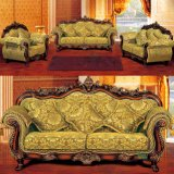 Living Room Sofa with Wooden Sofa Frame (929G)