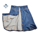 Wos Fashion Denim Skirt Made of 100%Cotton
