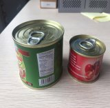 210g Lithographed Tin Canned Tomato Paste