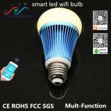 Wholesale RGB/RGBW 8W E27 LED Lighting Energy Saving Household/Commerical Smart LED WiFi Bulb Lamp Light