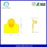 Animal Pig/Cattle Ear Tag for Tracking Animal