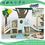Wooden Kindergarten Indoor Children Elephant Slide Playground (HJ-1401)
