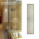 Custom Made Aluminum Screen Partition Gold Painting Color Decorative Panel