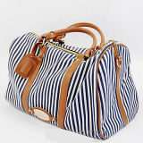 China Wholesale Stylish Canvas Tote Bags for Ladies Outside Travelling Sy7308
