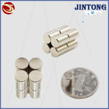Custom Super Strong Permanent Neodymium NdFeB Cylinder Magnet N35-N52 with Supplier Price