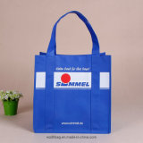 Supermarket Shopping Bag Biodegardable Non Woven Bag with Reinforced Handles