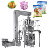 Automatic Granule Salt Rice Bean Sugar Popcorn Nuts Plastic Bag Packing Machine Vertical Sanck Food Filling Sealing Packaging Machine