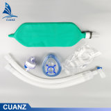 Breathing Circuit Kit with Oxygen Face Mask Hme Filters Capnography Line Air Bag