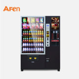 Drink Snack and Coffee Combination Vending Machine with Bill Reader and Coin Changer