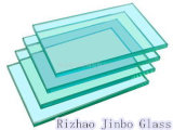 4-19mm Clear Tempered Glass with Ce/CCC/Sgscertificate (JINBO)