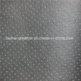 Full Perforated Fabric Vinyl Leather in China (DN-059)